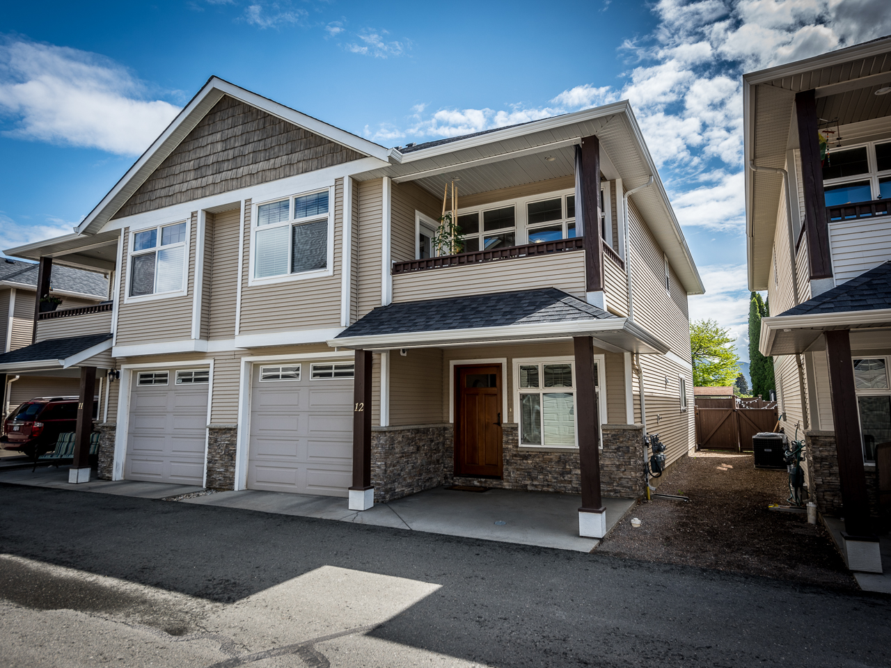 12 yr old Brock Half Duplex with Inlaw Suite – 12-2361 Tranquille Road