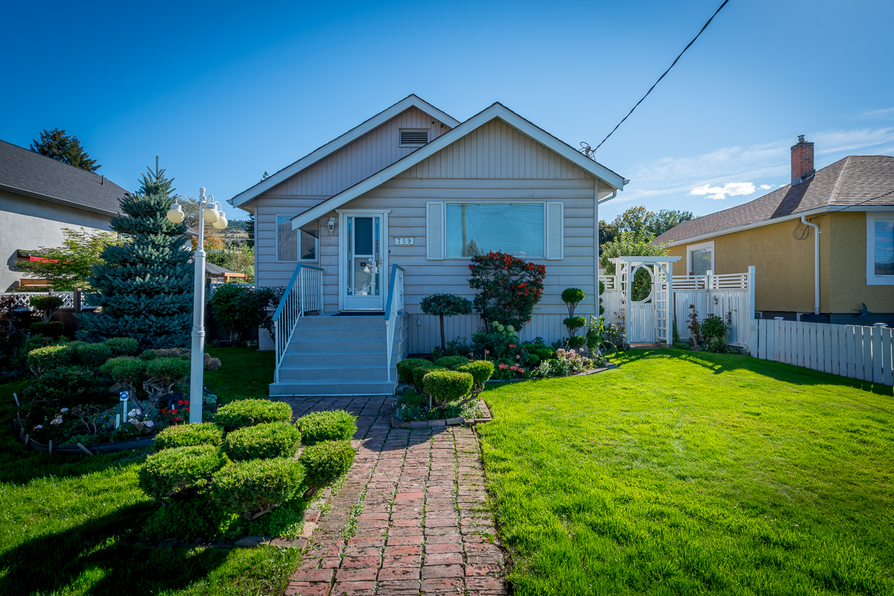 Downtown Kamloops Home with Detached Shop – 759 Columbia Street